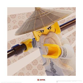 Lego Ninjago Movie - Master Wu Crop - Stampe d'arte