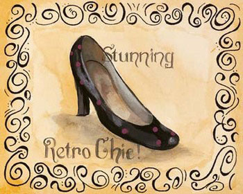 Retro Chic - Stampe d'arte