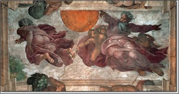 The Creation of the Sun, Moon and Vegetation  - Stampe d'arte