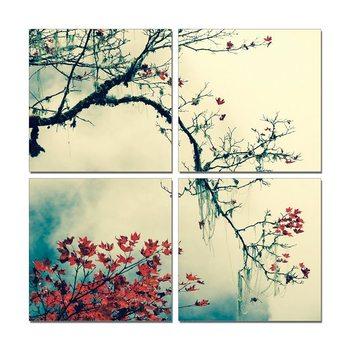 Blooming branch Tableau Multi-Toiles