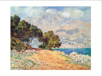 Cap Martin, near Mentonu Reproduction d'art