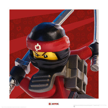 Lego Ninjago Le Film - Kai Crop Reproduction d'art