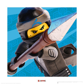 Lego Ninjago Le Film - Nya Crop Reproduction d'art