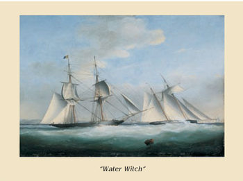 The Ship Water Witch Reproduction d'art