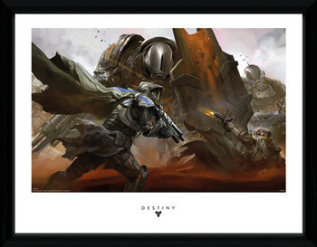 Destiny - Cabal Battle tablou Înrămat cu Geam