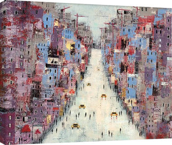 Lee McCarthy - Downtown Tablou Canvas