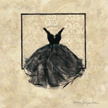 TAKE ME DANCING I - black kép reprodukció