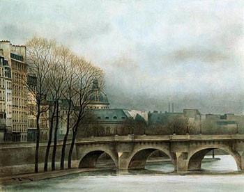 Le Pont Neuf Tisk