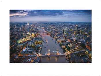 Londýn - Jason Hawkes Tisk
