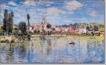 The Grand Canal and Santa Maria della Salute in Venice, 1908 Tisk