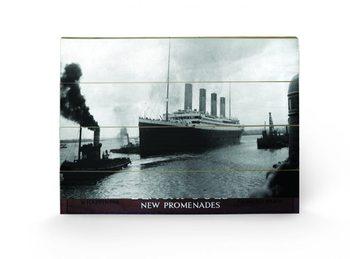 Bild auf Holz Titanic - Happiness