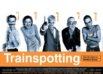 TRAINSPOTTING - one sheet - плакат (poster)