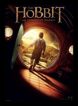 A Hobbit - One Sheet üveg keretes plakát