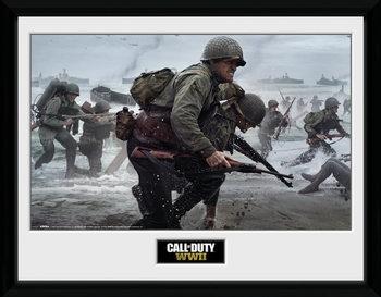 Call Of Duty: Stronghold - WWII Comraderie Keretezett Poszter