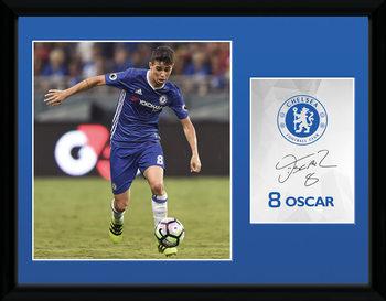 Chelsea - Oscar 16/17 üveg keretes plakát