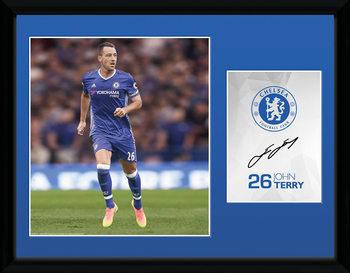 Chelsea - Terry 16/17 üveg keretes plakát