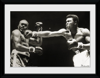 Muhammad Ali - Connect üveg keretes plakát