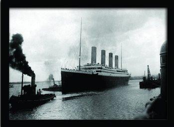 TITANIC (4) üveg keretes plakát