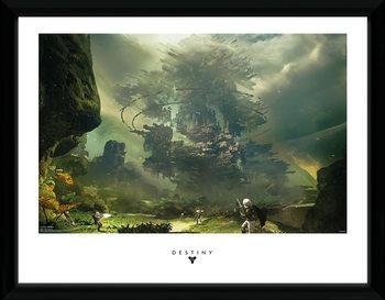 Destiny - The Fortress uokvireni plakat - pleksi