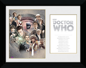 Doctor Who - Doctors Uramljeni poster