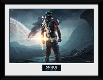Mass Effect Andromeda - Landscape uokvireni plakat - pleksi