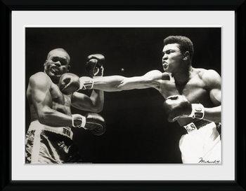 Muhammad Ali - Connect uokvireni plakat - pleksi