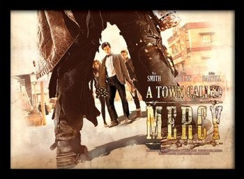 DOCTOR WHO - a town called mercy Uokvireni plakat - pleksi