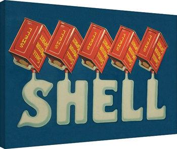Vászon Plakát Shell - Five Cans 'Shell', 1920