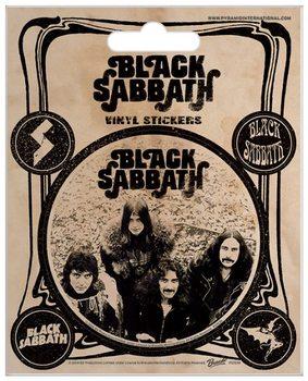 Black Sabbath - Vintage Vinyl klistermærker