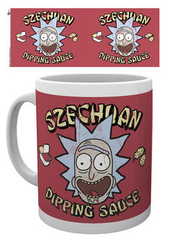 Rick And Morty - Szechuan Dipping Sauce Skodelica