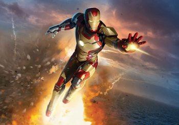 Iron Man Marvel Avengers Poster Mural