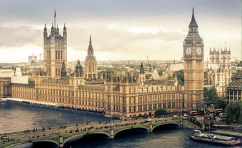 La vue de Londres Poster Mural