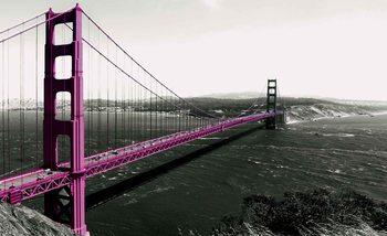 le pont du Golden Gate Poster Mural