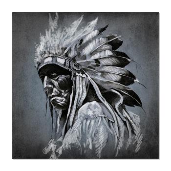 Wandbilder Indian