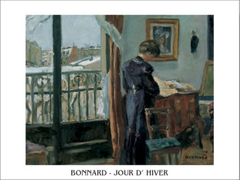 Winter's Day, 1905 Festmény reprodukció