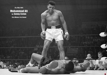 Muhammad Ali vs. Sonny Liston XXL plakat