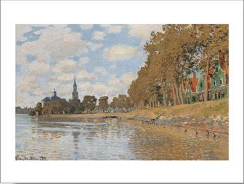 Zaandam, Holland, 1871 Festmény reprodukció