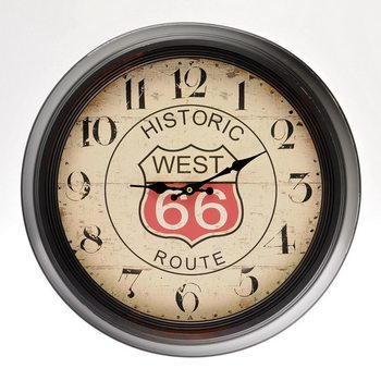 Design Clocks - Route 66 Zegar