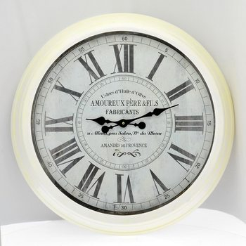 Design Clocks - White Zegar