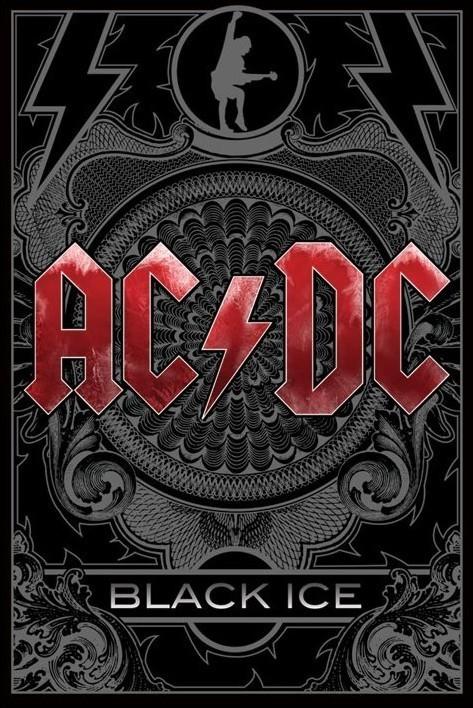 Αφίσα AC/DC - black ice
