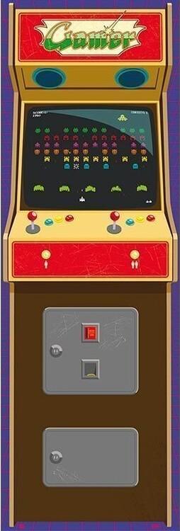 Αφίσα πόρτας Arcade Gamer