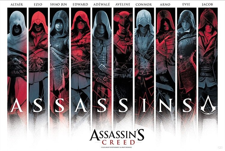 Αφίσα Assassin's Creed - Assassins