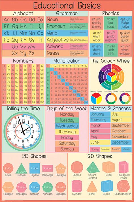 Αφίσα Educational Basics