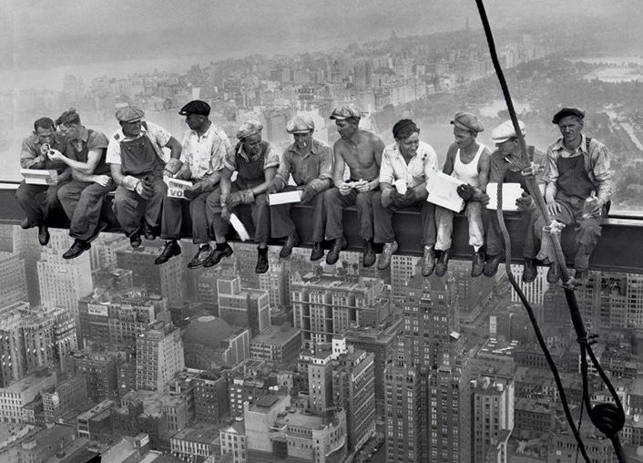 Αφίσα Lunch on a skyscraper