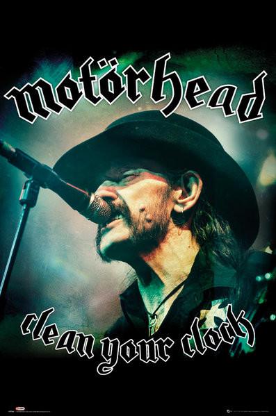 Αφίσα  Motorhead - Clean Your Clock (Global)