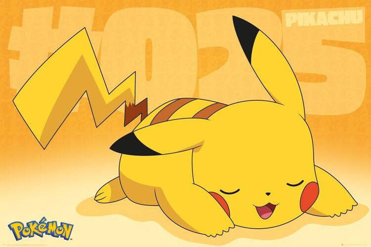 Αφίσα Pokemon - Pikachu Asleep