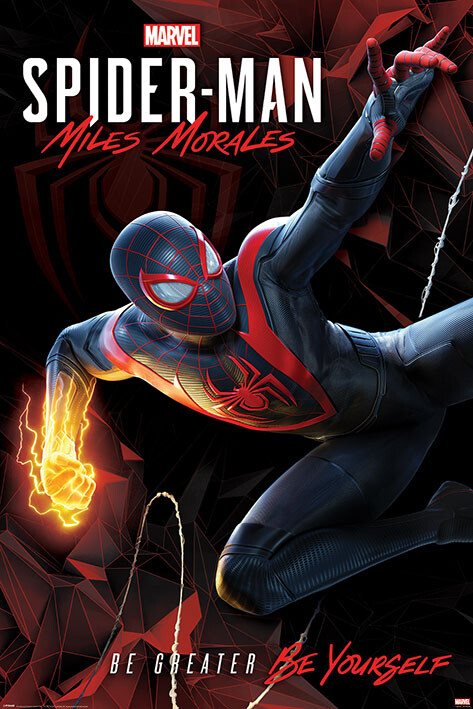Αφίσα Spider-Man Miles Morales - Cybernetic Swing