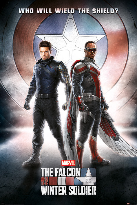 The Falcon and the Winter Soldier - Wield The Shield Αφίσα, Poster |  Europosters.gr