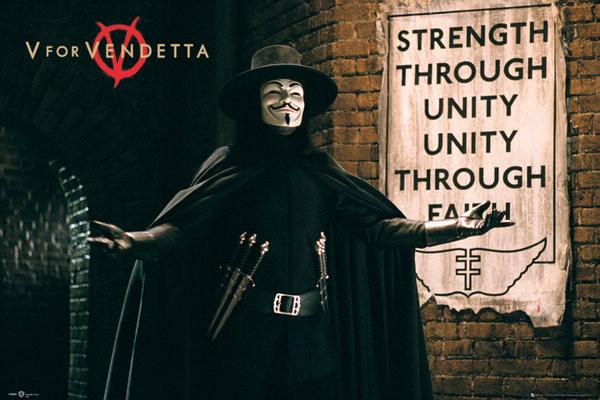 V FOR VENDETTA - unity Αφίσα, Poster | Europosters.gr