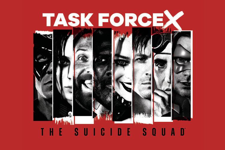 Ταπετσαρία τοιχογραφία Ομάδα αυτοκτονίας 2 - Task force X